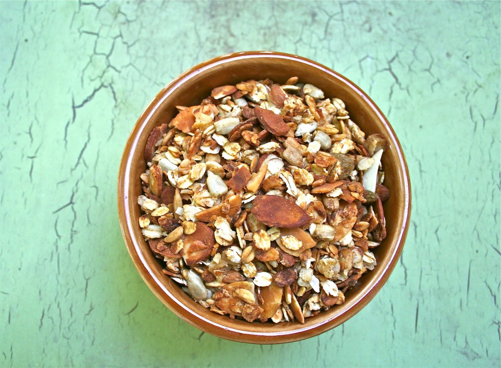 Coconut Almond Granola | Anecdotes and Apple Cores