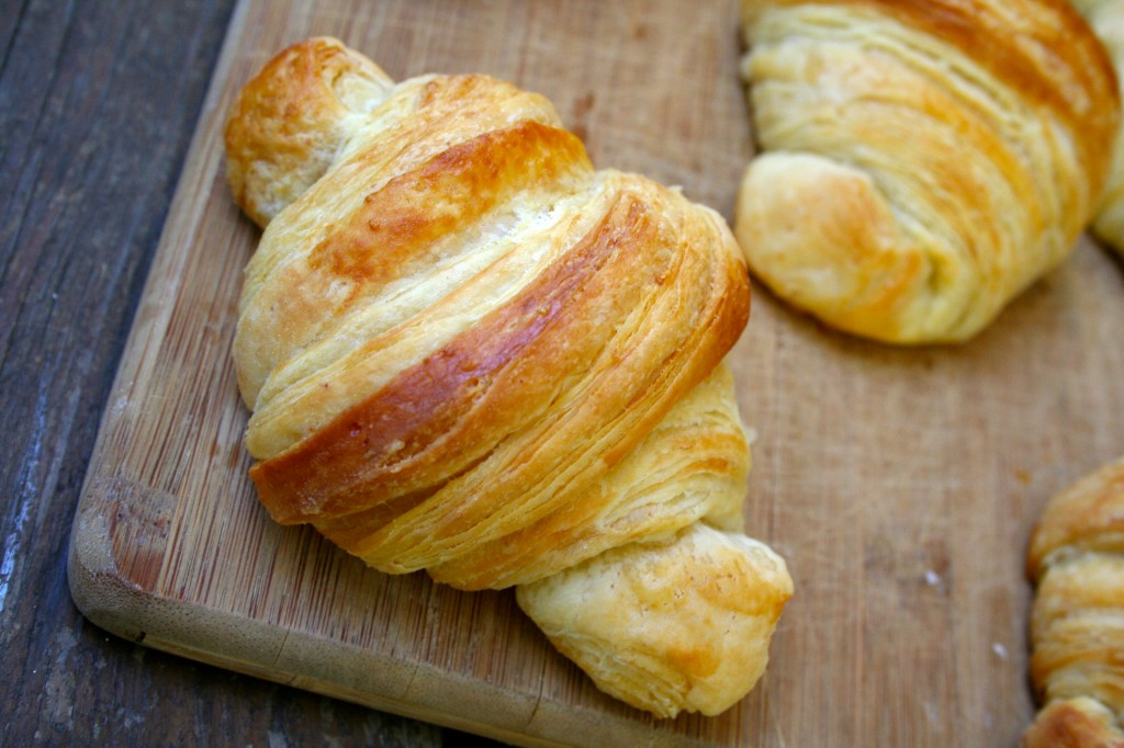 Croissants anecdotes and apple cores for 8 tablespoons of butter