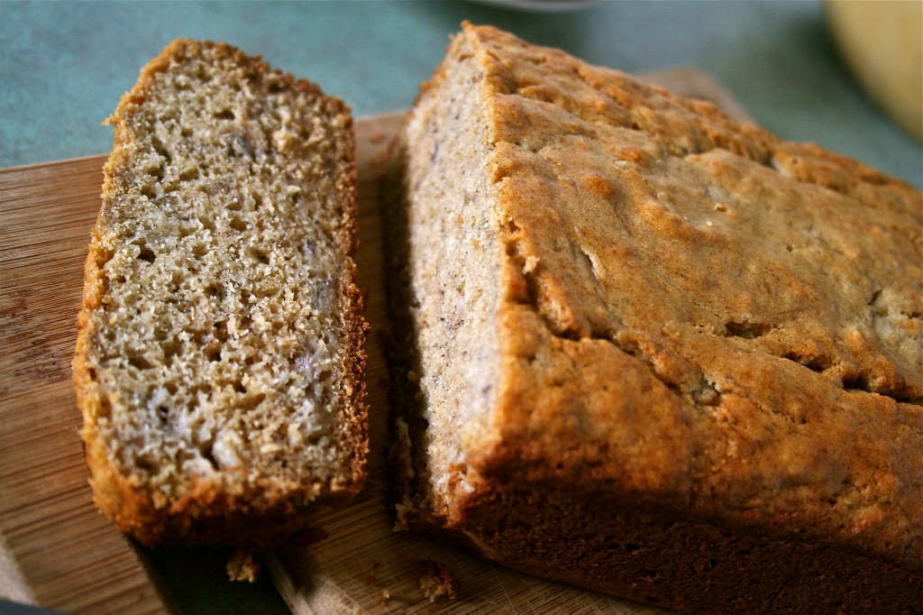 Maple Syrup Banana Bread | Anecdotes and Apple Cores