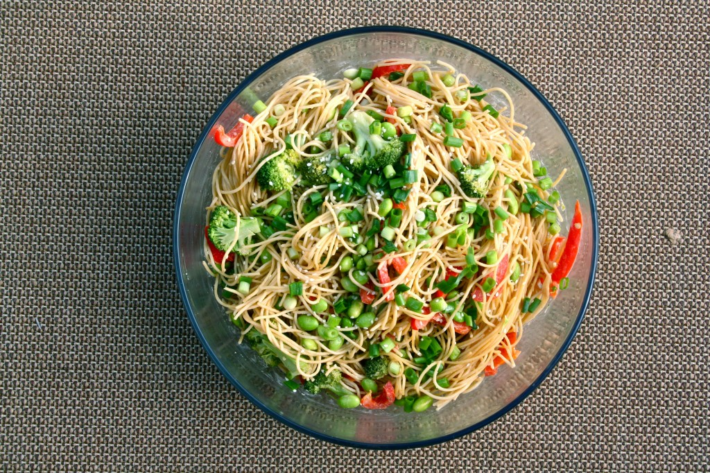 Light Sesame Noodles | Anecdotes and Apple Cores