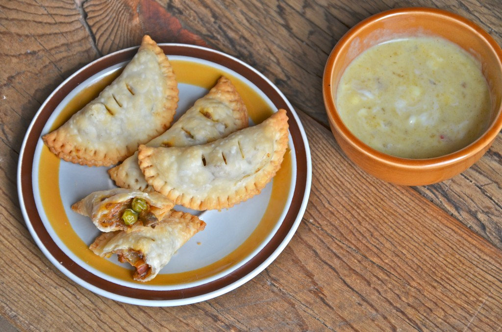 Wild Mushroom Samosas from Anecdotes and Apple Cores