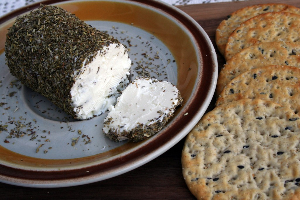 Goat Cheese with Herbes de Provence v2 (Anecdotes & Applecores)