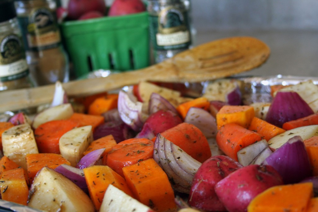 Harvest Vegetables with Roasted Ginger & Cumin IPv2 (Anecdotes & Applecores)