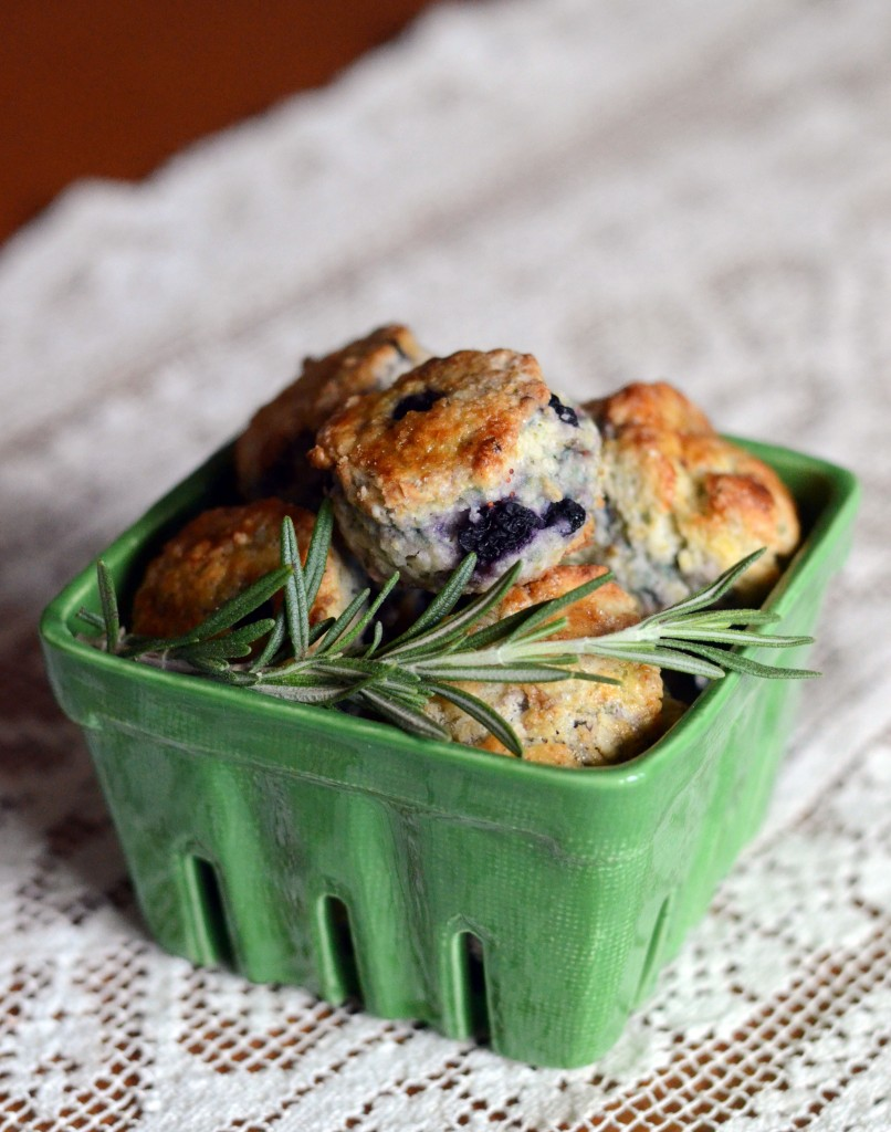 Blueberry Rosemary Scones | Anecdotes and Apple Cores