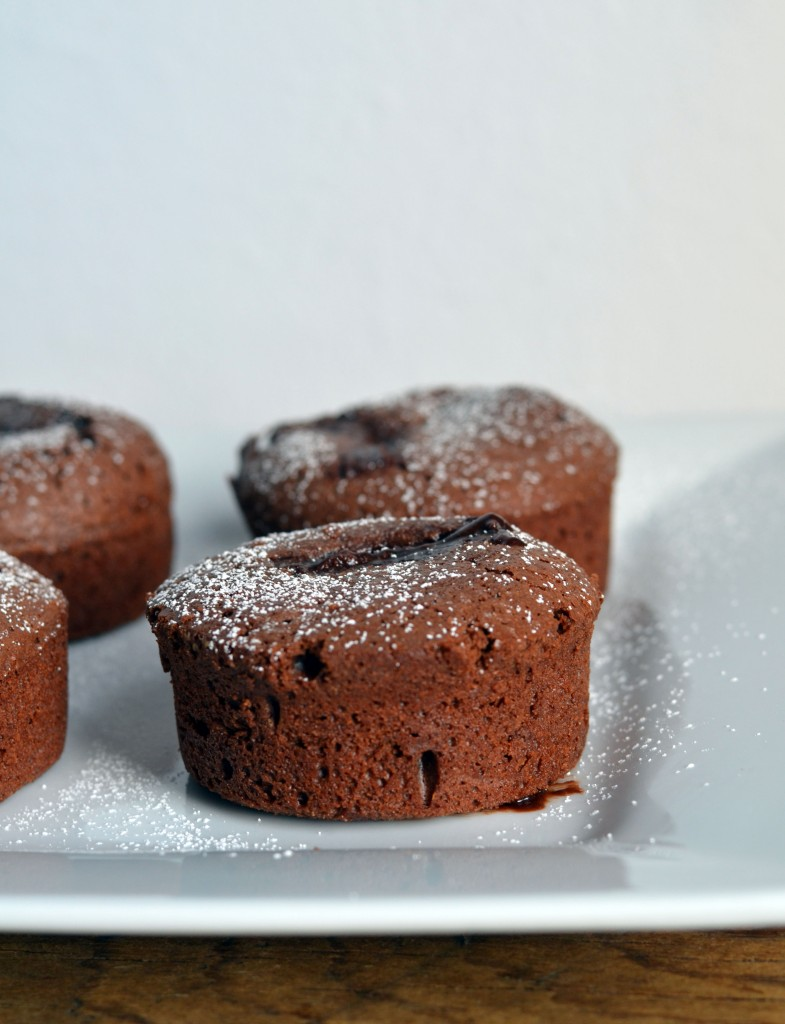 Molten Spiced Chocolate Cakes | Anecdotes and Apple Cores
