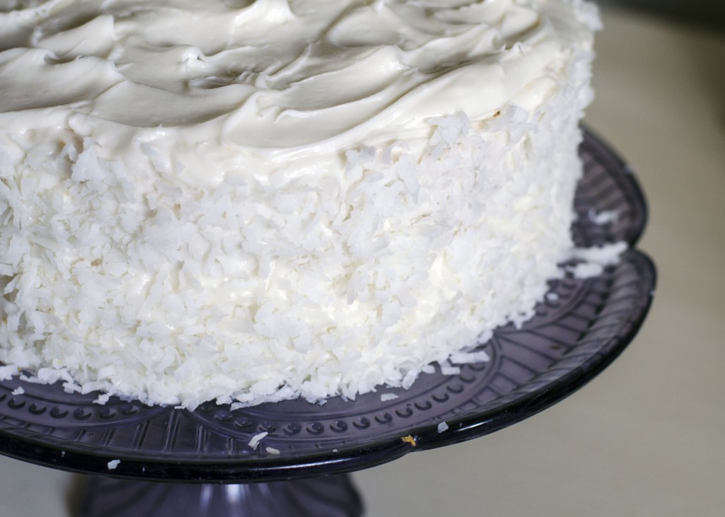 Creamy Coconut Cake | Anecdotes and Apple Cores