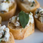Goat Cheese, Walnut, and Honey Bruschetta: A Match Made in Heaven