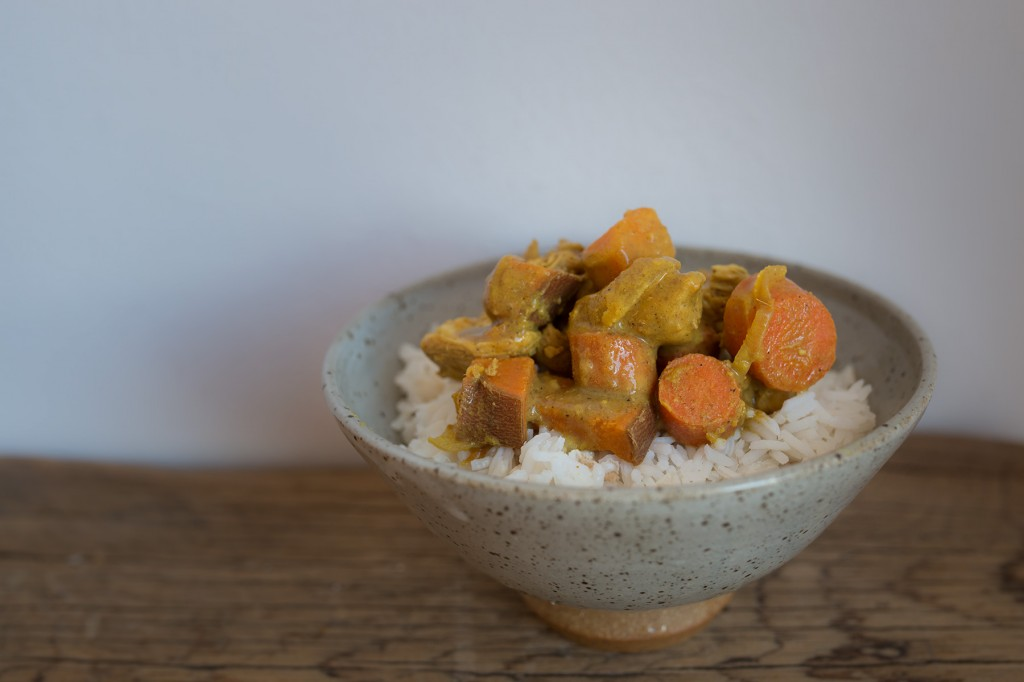 Sweet Potato and Carrot Curry